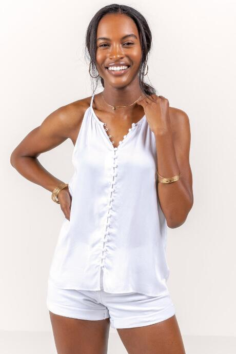 Myla Button Tank Top