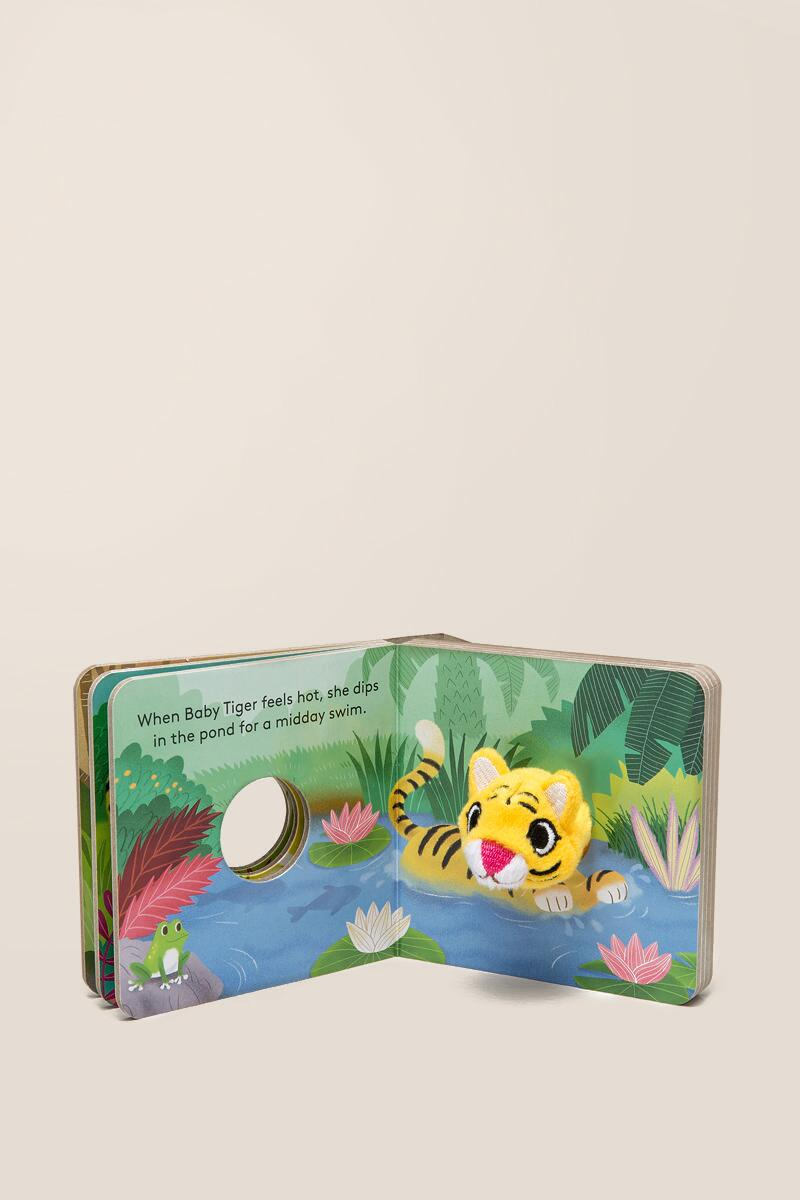 Baby Tiger - Finger Puppet Book by Yu-hsuan Huang ...